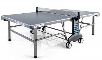 Folding Ping Pong Table with Wheels-Free Ping Pong Net 3//4 Ping Pong Table Top Butterfly Playback 19 Table Tennis Table